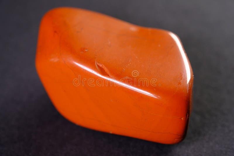 Czerwony jaspis obraz stock