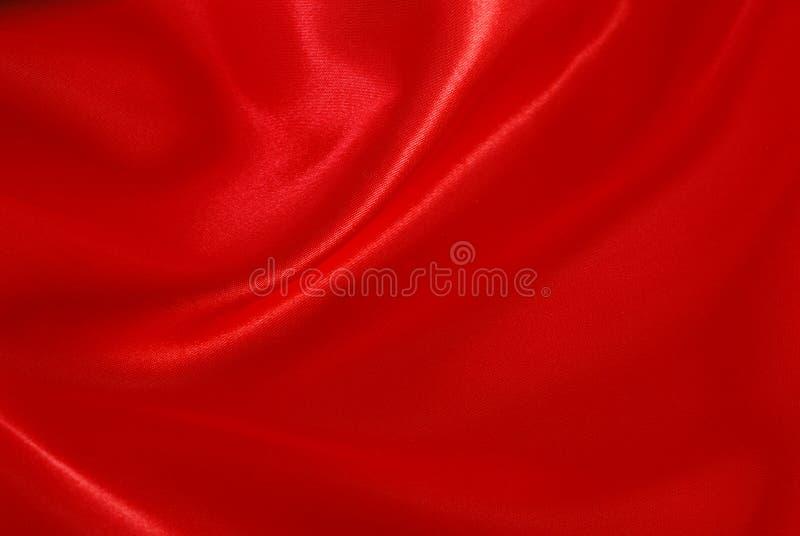 czerwony jedwab zdjęcie stock