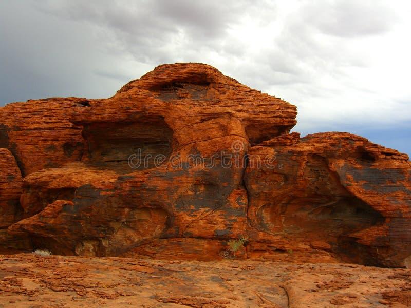 czerwony kamień zdjęcia stock