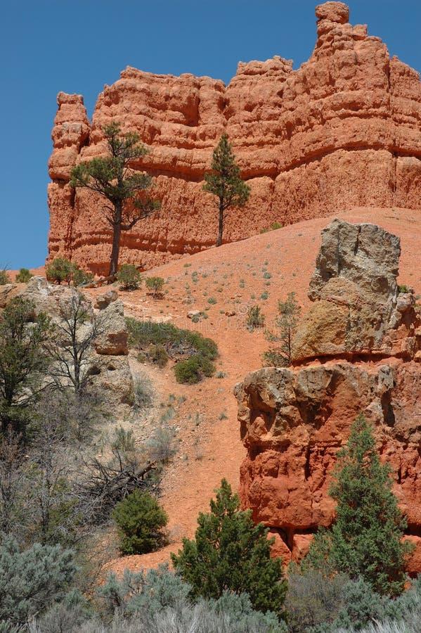 Download Czerwony kanionu zdjęcie stock. Obraz złożonej z kolorowy - 142340