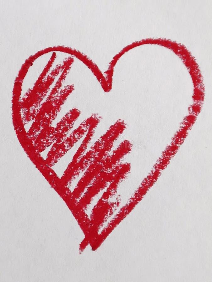 Czerwony kierowy kształt obrazy royalty free