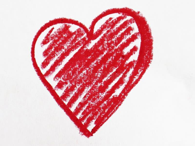 Czerwony kierowy kształt obrazy stock