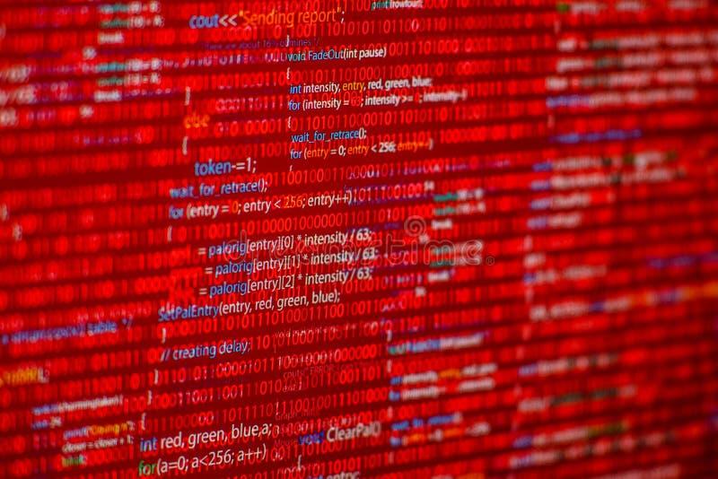 Download Czerwony kod obraz stock. Obraz złożonej z procedura - 53789755