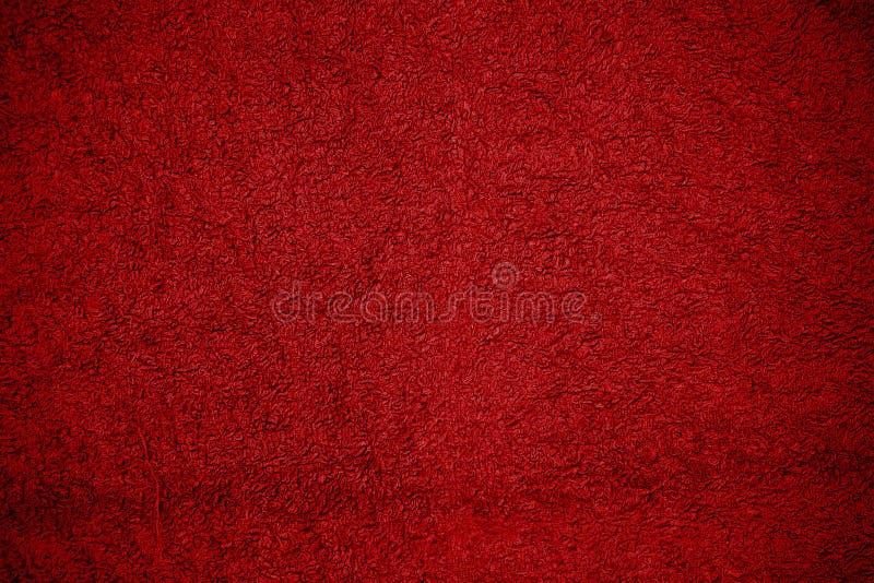 czerwony konsystencja ręcznik obrazy royalty free