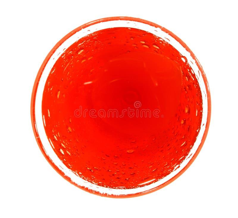 czerwony krąg fotografia stock