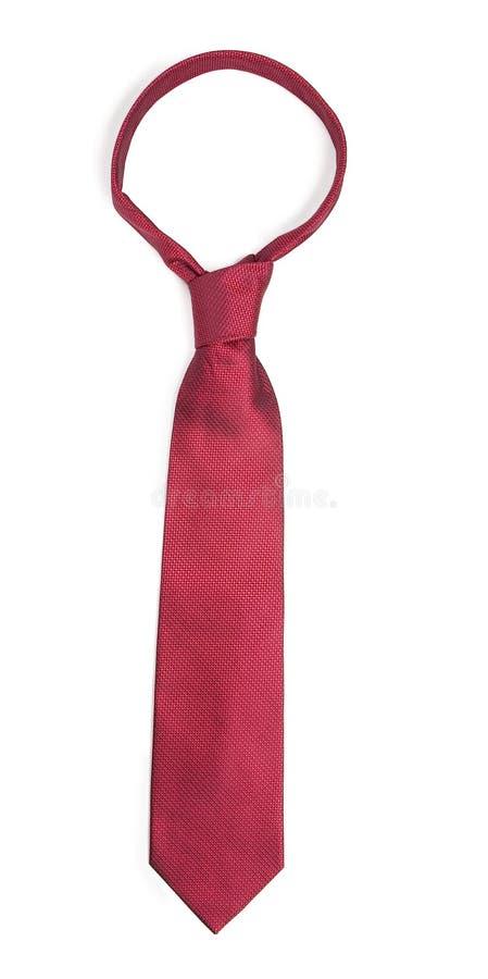 czerwony krawat obrazy stock