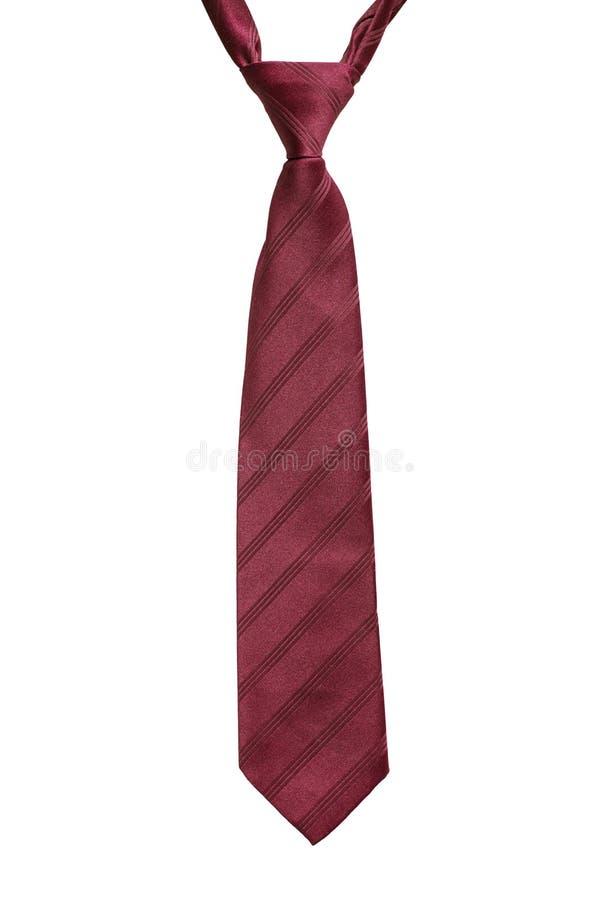 Czerwony krawat zdjęcie stock