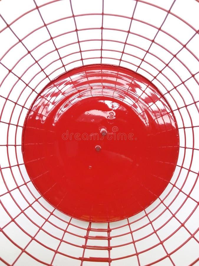 Czerwony lampion handmade z bliska obrazy stock