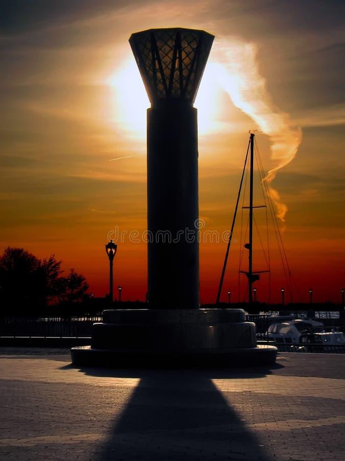 Download Czerwony latarniowa zdjęcie stock. Obraz złożonej z łódź - 40954