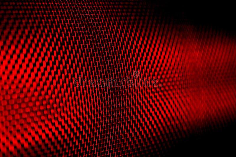 czerwony makron ekran okno obrazy stock