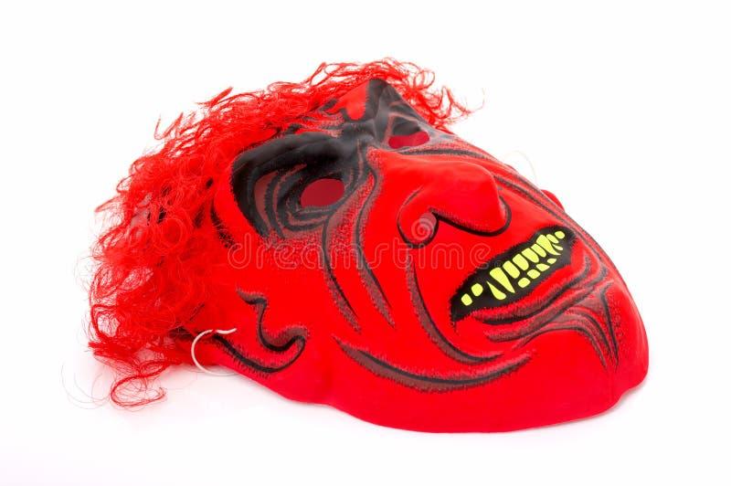 czerwony maskowa obraz stock