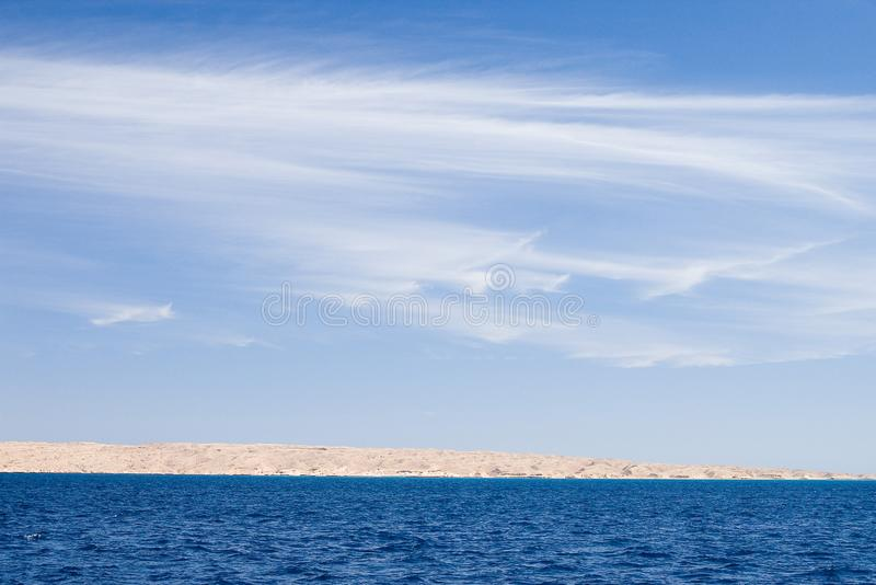 Czerwony morze zdjęcie royalty free