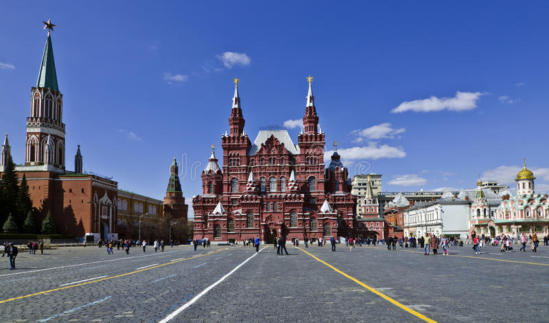 czerwony Moscow kwadrat Russia obraz stock