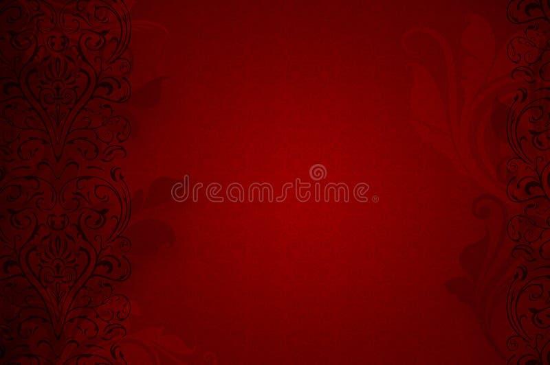 Czerwony namiętny tło obraz royalty free