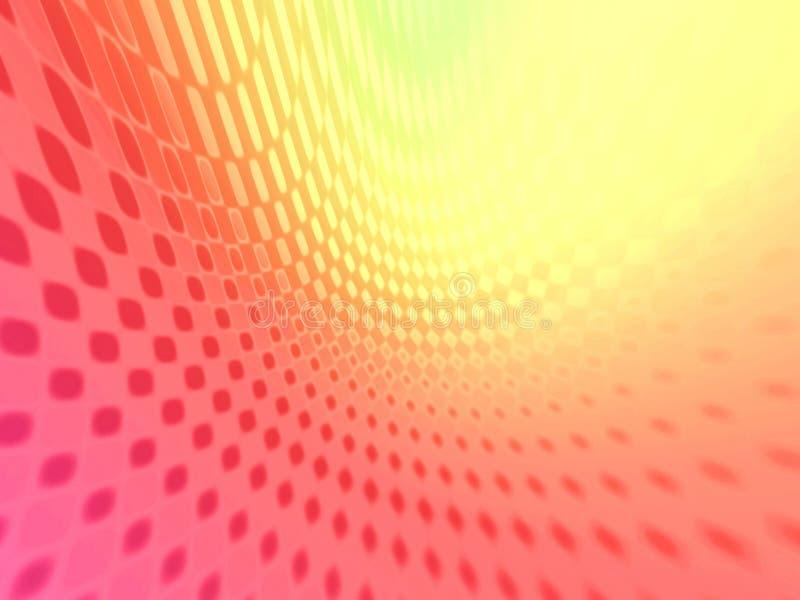 czerwony netto żółty ilustracja wektor