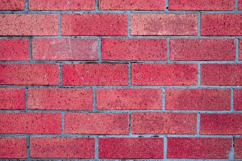 Czerwony nieociosany rocznik cegły bloku tekstury tło zdjęcia royalty free