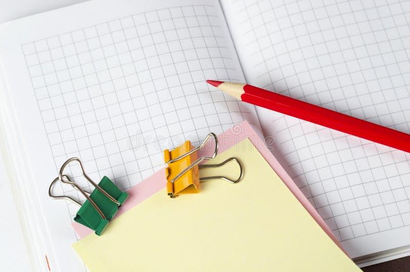 Czerwony ołówek obrazy stock