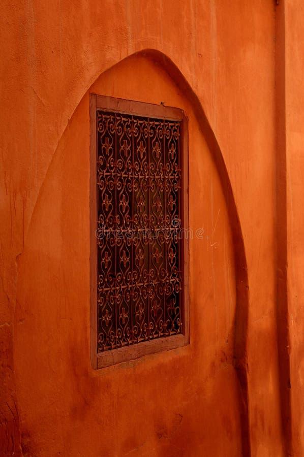 czerwony okno zdjęcie stock