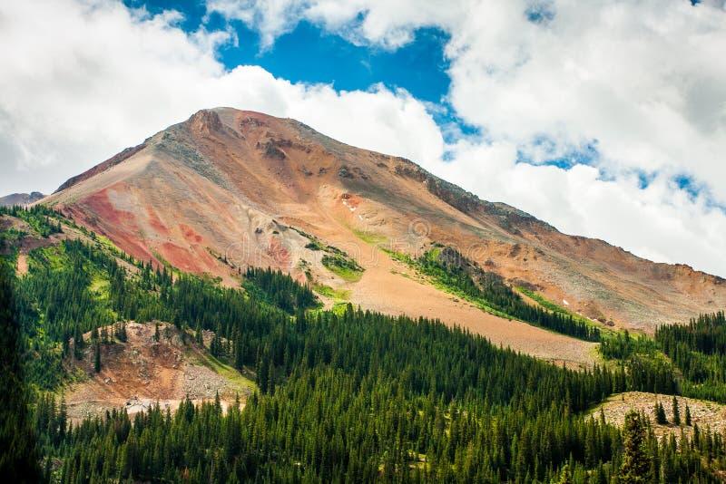 Czerwony Pasmo Górskie, Kolorado fotografia stock
