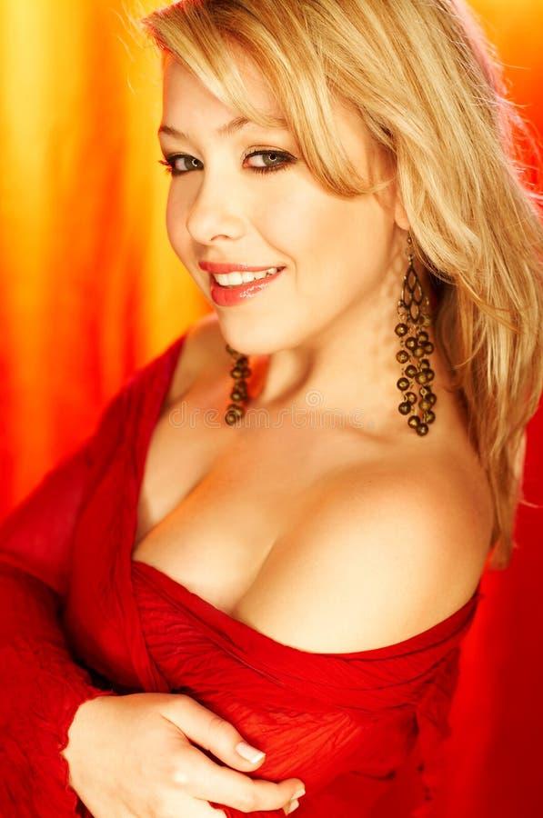 czerwony piękności zdjęcia stock