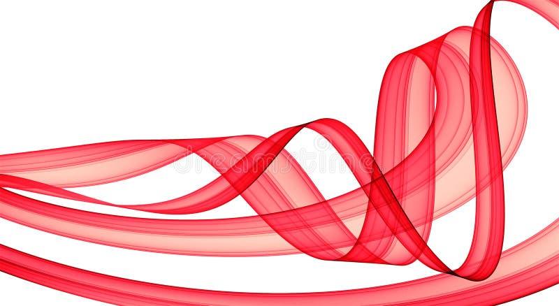 czerwony pozyskiwania świąteczna ilustracja wektor