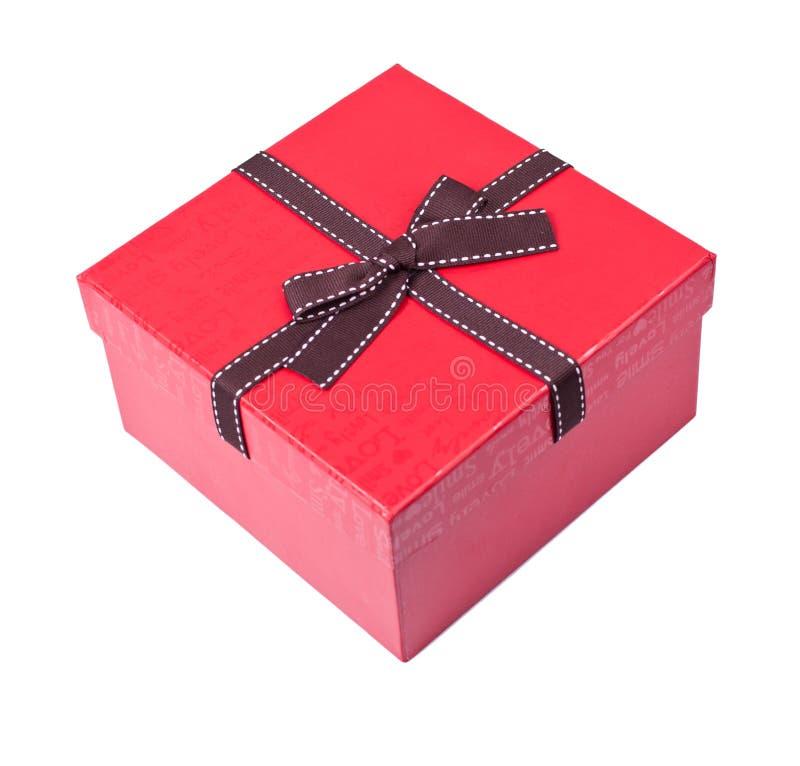 Download Czerwony prezenta pudełko obraz stock. Obraz złożonej z christmas - 28961125