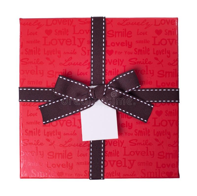 Download Czerwony prezenta pudełko obraz stock. Obraz złożonej z teraźniejszość - 28961127