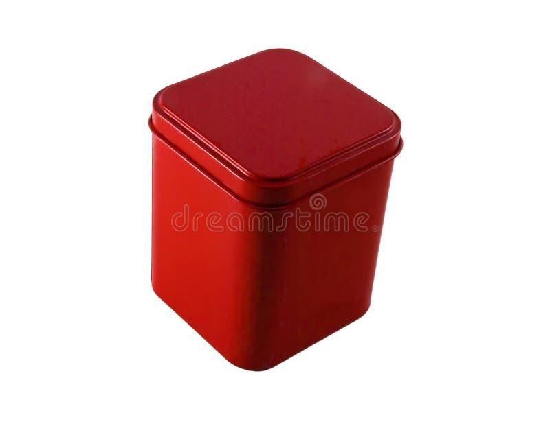 czerwony pudełkowata obraz royalty free