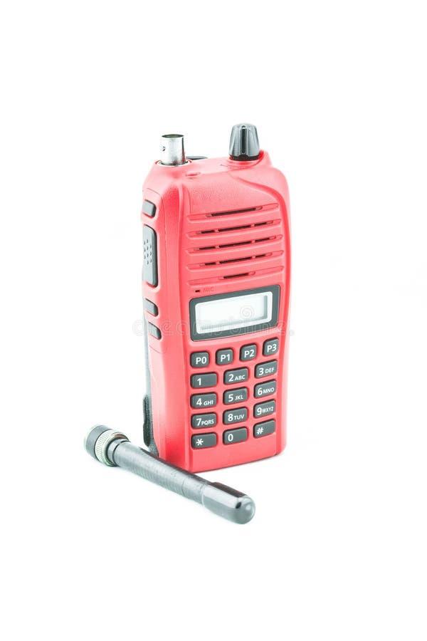 Czerwony radiocommunication obrazy stock