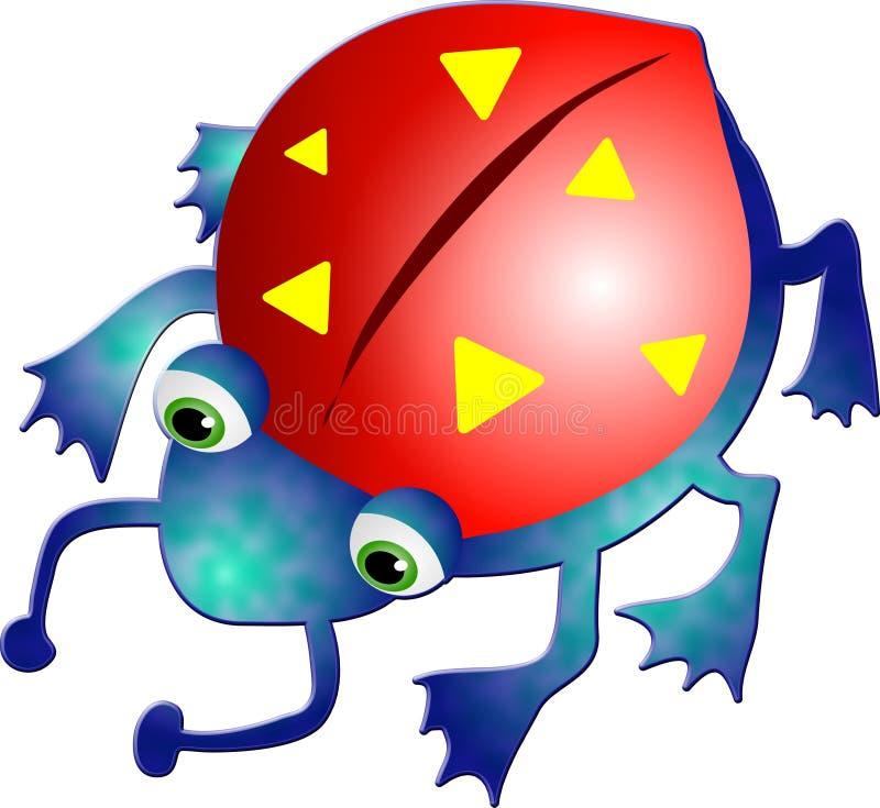 Download Czerwony robaki ilustracji. Obraz złożonej z istoty, critters - 29896