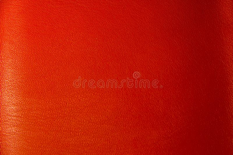 Czerwony rzemienny textural tło zdjęcia royalty free