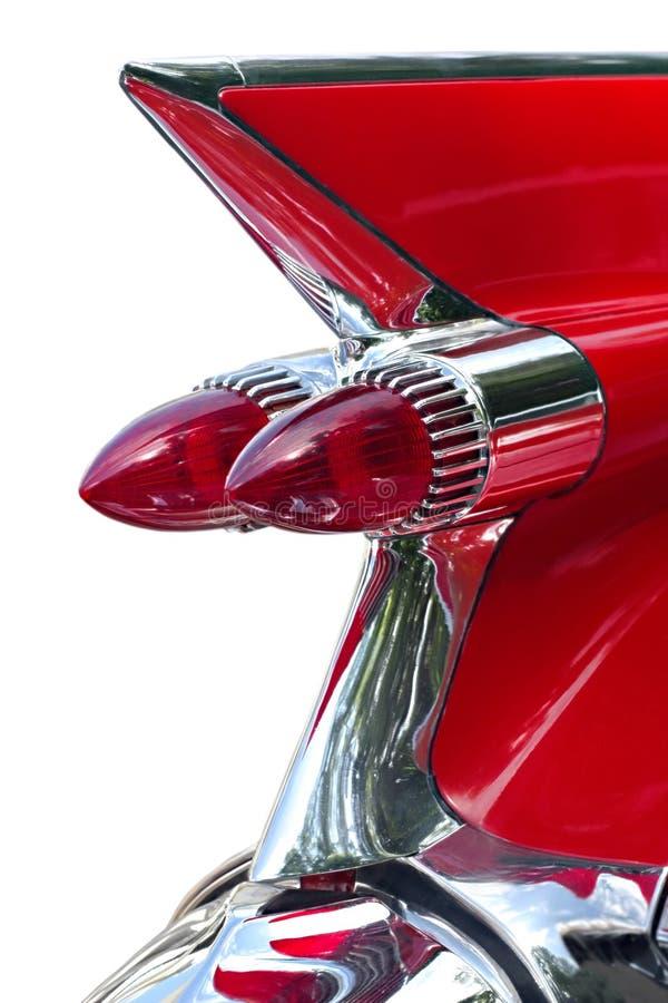 czerwony samochód marzeń zdjęcia stock