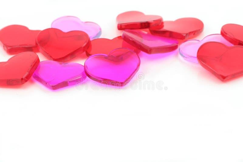 czerwony serca pojęcie miłości obraz royalty free