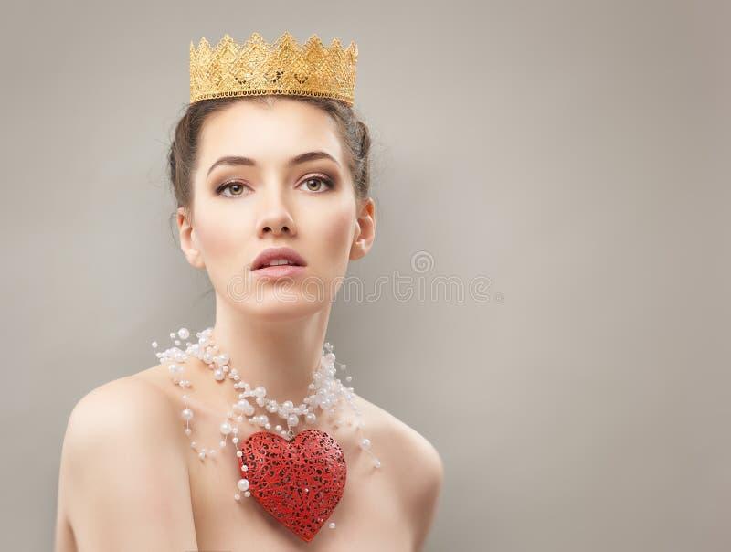Czerwony serce fotografia royalty free
