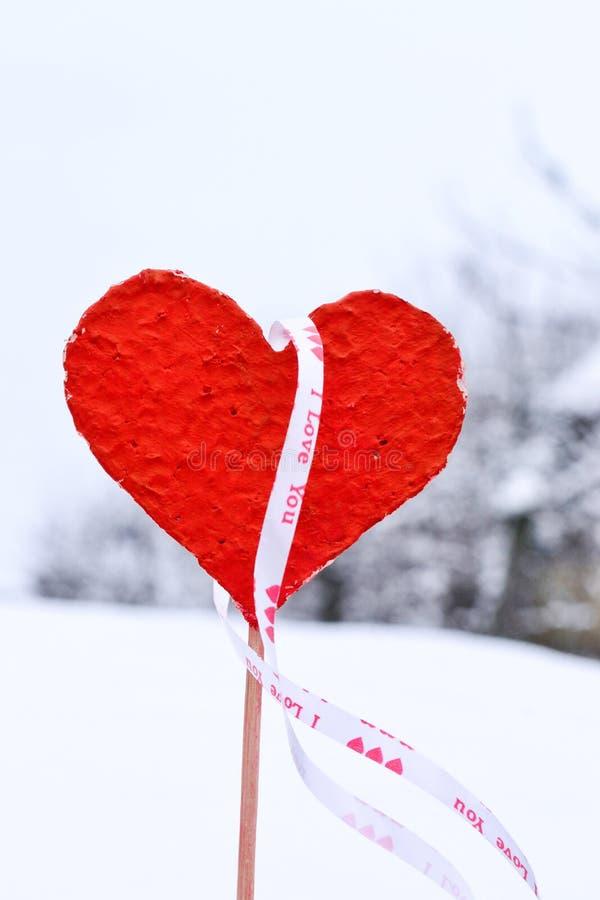 Czerwony serce zdjęcia royalty free