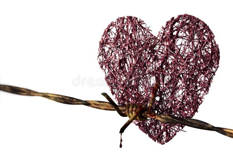 Czerwoni serca obrazy stock