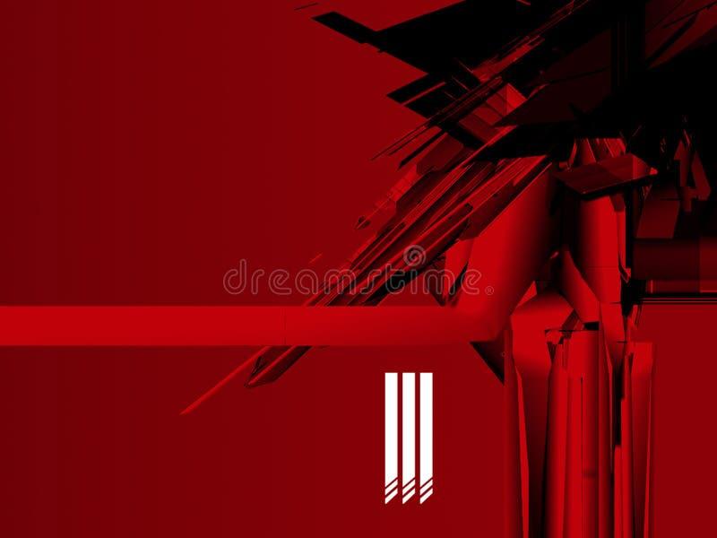 czerwony system zdjęcia stock