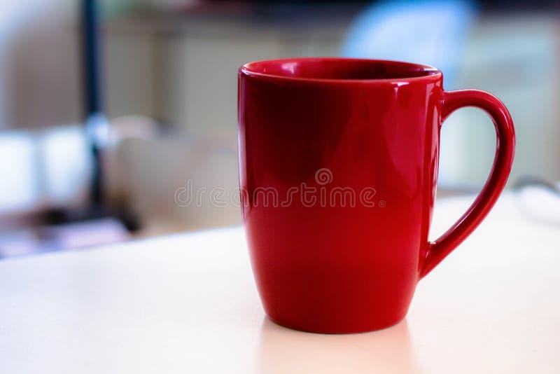 Czerwony szkło zdjęcia stock