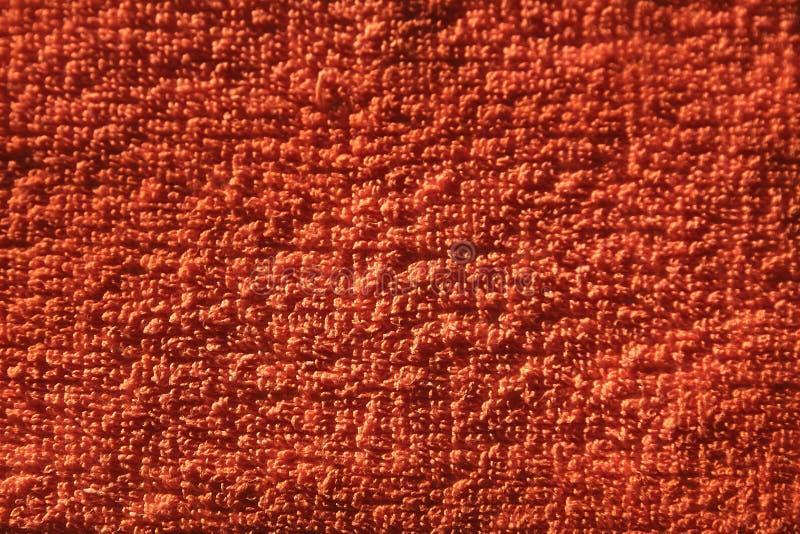 Czerwony tło bawełniany materiał zdjęcia royalty free