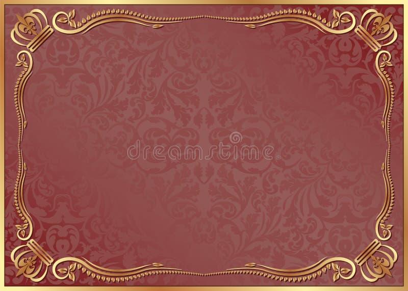 Download Czerwony tło ilustracja wektor. Obraz złożonej z nowożytny - 26705237