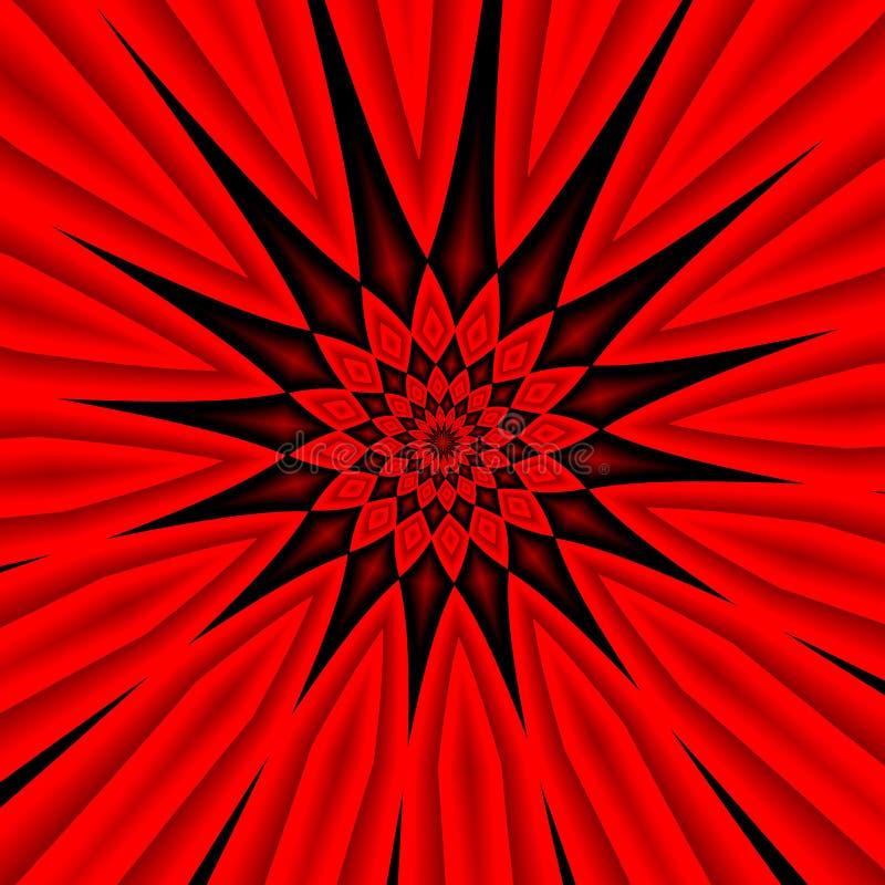 Download Czerwony tło ilustracji. Ilustracja złożonej z reklama - 57667566