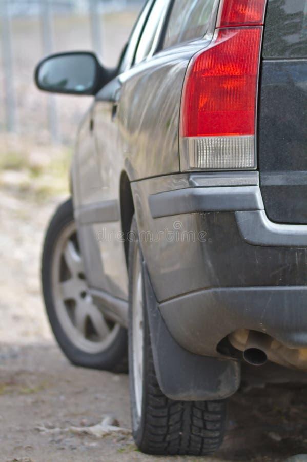 Czerwony taillight zdjęcie royalty free