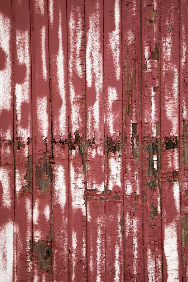 czerwony tekstury drewna zdjęcie stock
