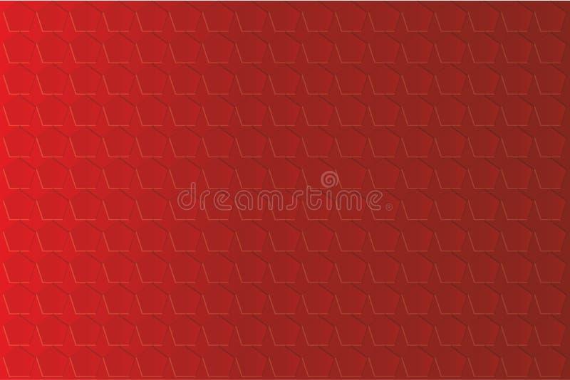 Czerwony tekstury tło obrazy stock