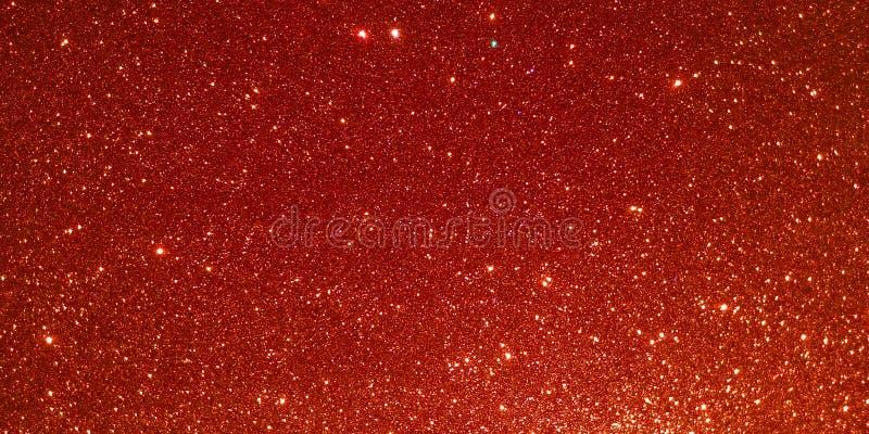 Czerwony textured tło z błyskotliwość skutka tłem ilustracja wektor