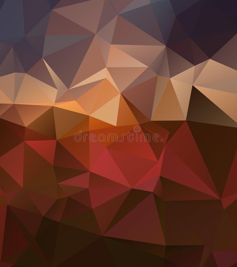 Czerwony złocisty tło z gradientami wykłada eps 10 ilustracji