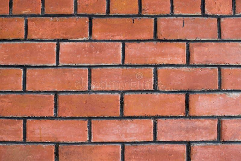 Czerwonych cegieł ściany tekstury tło zdjęcia stock