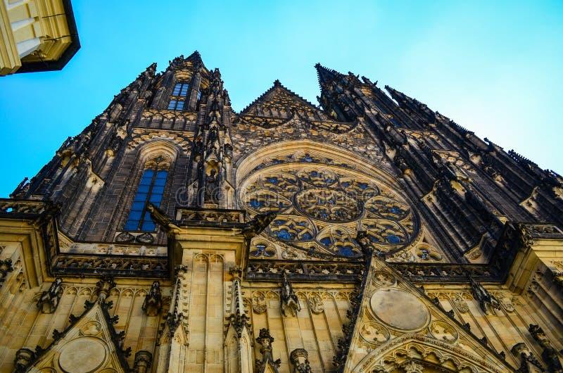 czeska kościelna pani nasze Prague republiki tyn zdjęcie royalty free