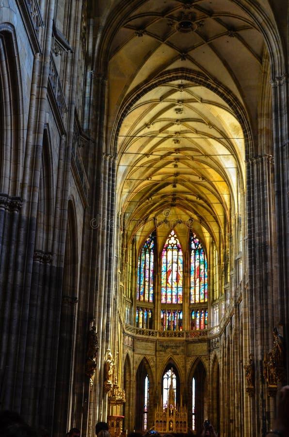 czeska kościelna pani nasze Prague republiki tyn obrazy stock