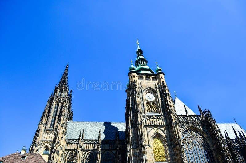 czeska kościelna pani nasze Prague republiki tyn obrazy royalty free